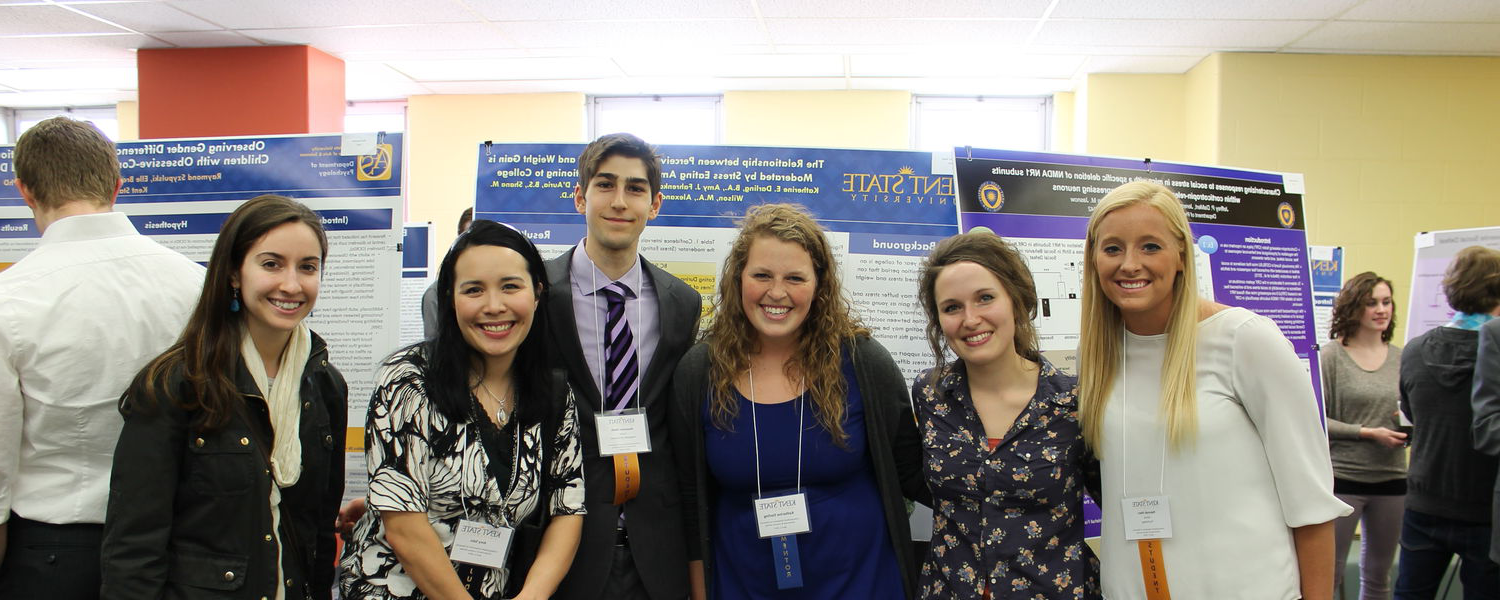Members of Dr. Amy Sato's Lab at the 1st Annual Undergraduate 研究 Symposium