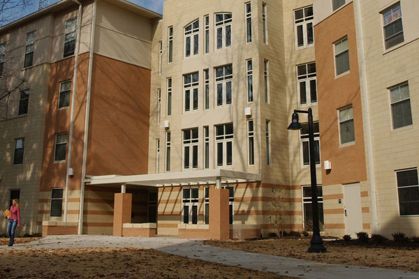The Centennial Courts are one of the largest dorms on campus.